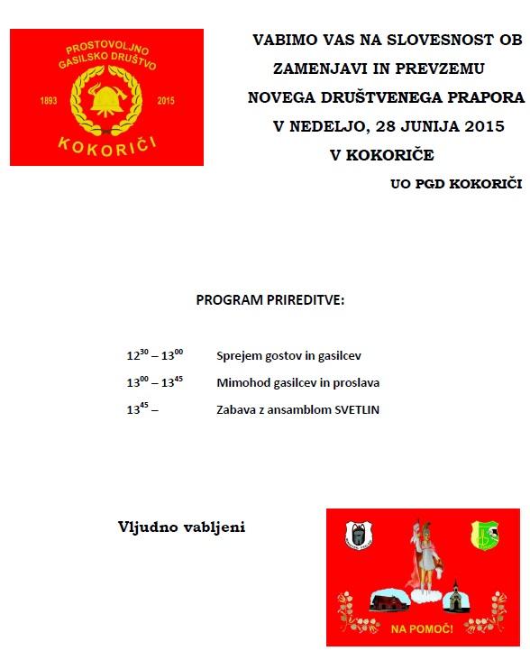 PGD Kokorici 2015