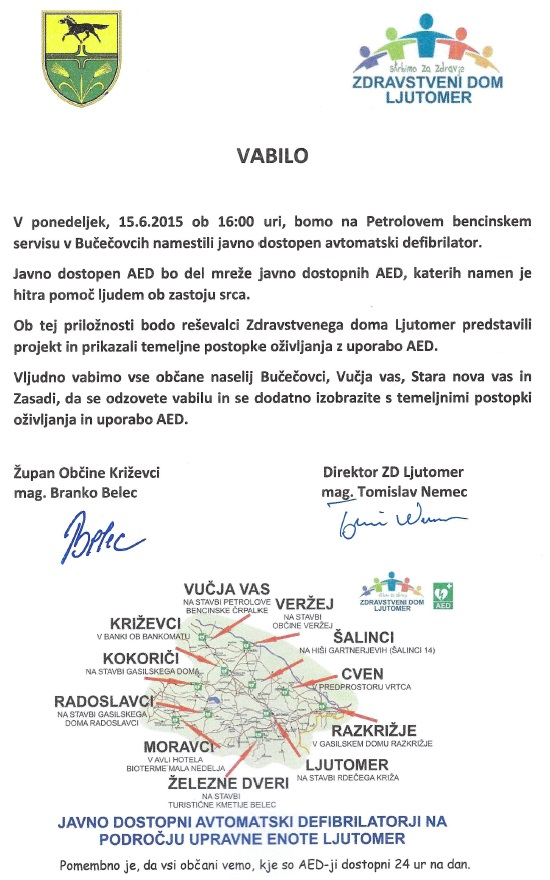 ZDL 2015 AED Bucecovci